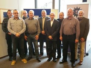 Der neu gewählte Vorstand der GdP-Direktionsgruppe Koblenz