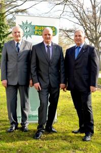 v.l.n.r.: Klaus Venn, Klaus Engel und Roland Voss