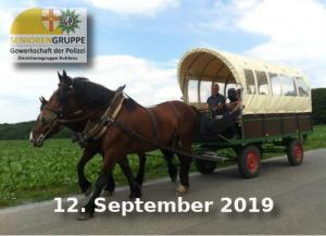 GdP-Planwagenfahrt mit Jupp Scheuring